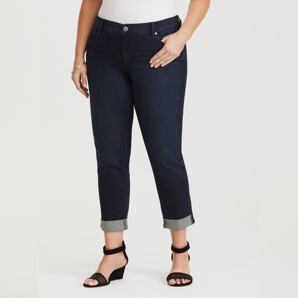 torrid Denim - NWT Torrid Boyfriend Jean Pants - Dark Wash 4XL